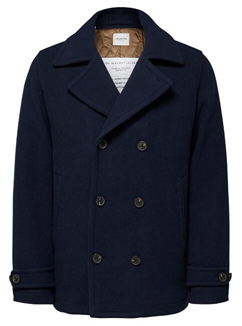 SELECTED HOMME Palton pentru bărbați SLHMATT PEACOAT W Dark Sapphire L