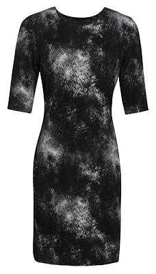 Smashed Lemon Dámske krátke šaty Black 17634 02 XS 62ef11f86a