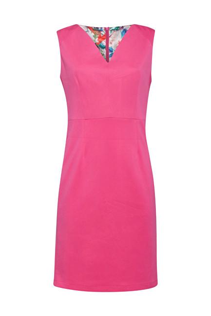 Smashed Lemon Dámske šaty 19231 Pink S
