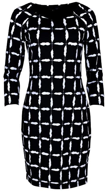 Smashed Lemon Dámske šaty Black/White 18598 S
