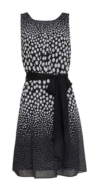 Smashed Lemon Dámske šaty Black/White 19072 XS