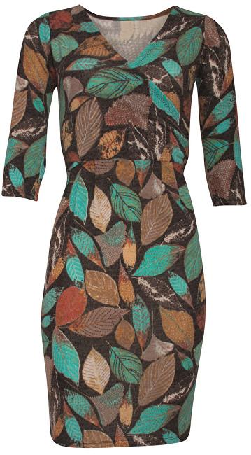 Smashed Lemon Dámske šaty Brown/Multicolor 18739 S