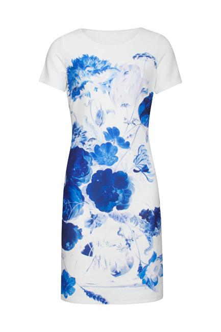 Smashed Lemon Dámske šaty White/Cobalt 19168 S