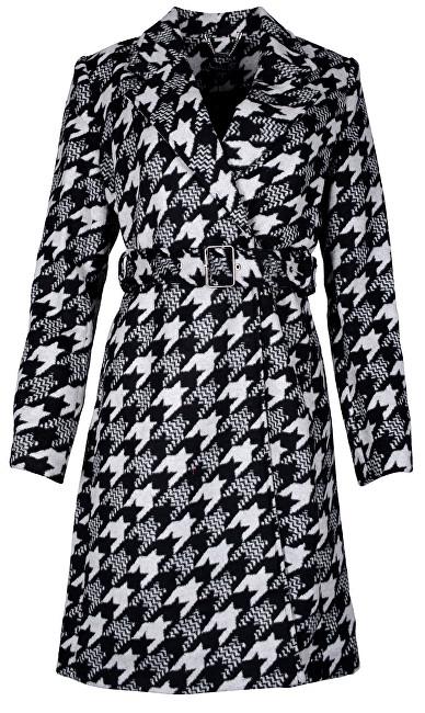 Smashed Lemon Palton pentru femei Black / Light Grey 18558 XL