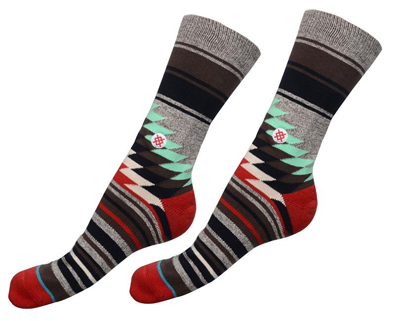 Stance Pánské ponožky Lariato Grey M311C15LAR-GRY 43-46