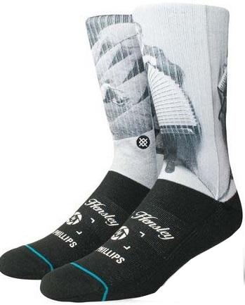 Stance Pánské ponožky M Hensley Black M556A18HEN-BLK 43-46