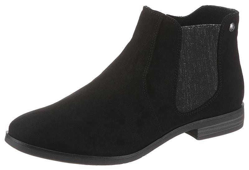 s.Oliver Dámske členkové topánky Black 5-5-25302-22 001 37