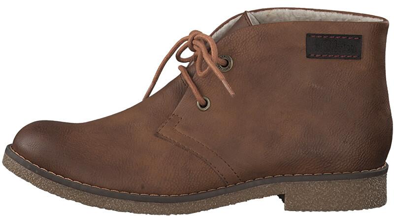 s.Oliver Dámske členkové topánky Cognac 5-5-26111-23-305 40