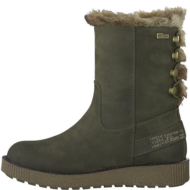 6ed710cf4a81 Oliver Dámske členkové topánky Olive 5-5-26413-21-720