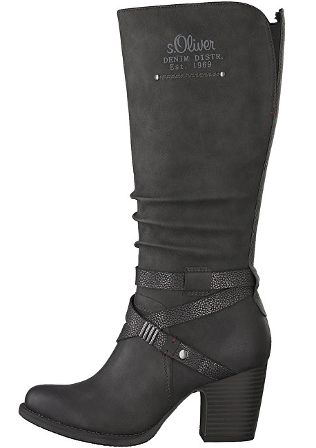 s.Oliver Pantofi de piele Black 5-5-26513-31-098 40