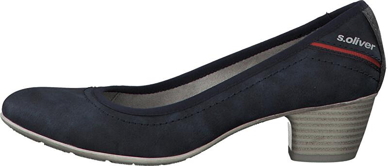 s.Oliver Női alkalmi cipő Denim 5-5-22301-34 38