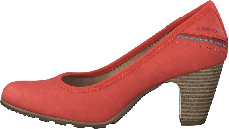 s.Oliver Dámske lodičky Red 5-5-22404-24 -500 40