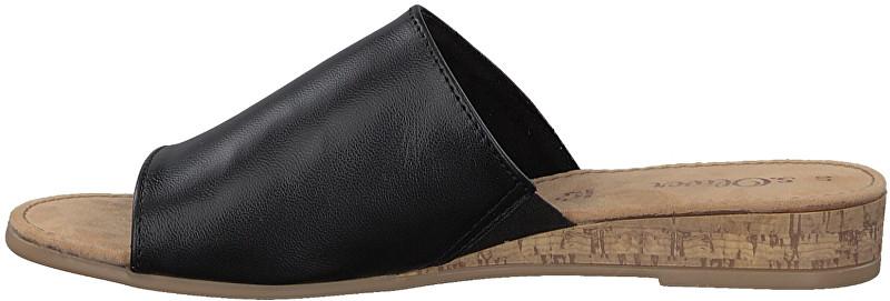 s.Oliver PapuciBlack Leather 5-5-27100-20-003 pentru femei 38