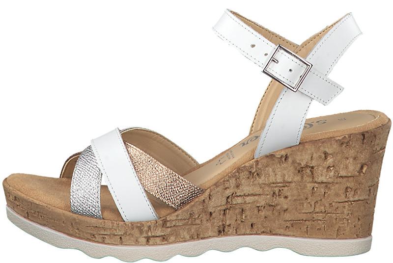s.Oliver Dámske sandále White Lea. Comb 5-5-28301-22-111 39