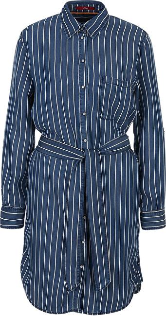 s.Oliver Dámske šaty 14.003.82.4038.57G0 Stoker blue stripe 36