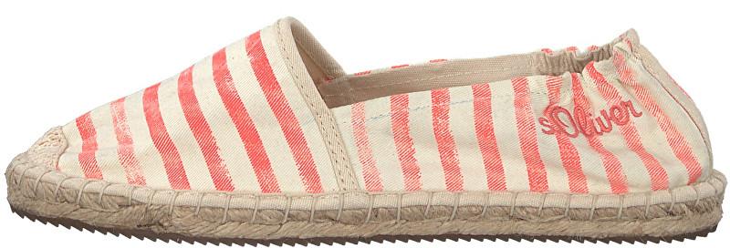 s.Oliver Femeile espadrilky Coral Stripe cu 5-5-24212-20-564 38