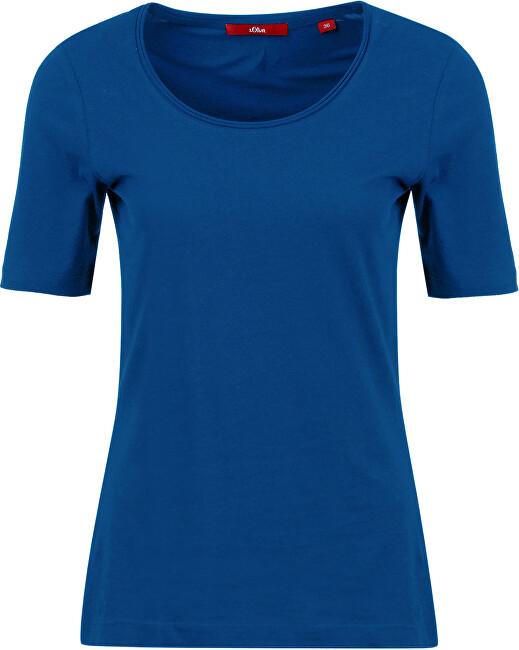 s.Oliver Tricou pentru femei 14.002.32.6310.5603 Cobalt blue 38