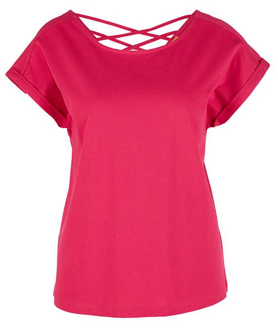 s.Oliver Dámske tričko 14.906.32.7970.4565 Dark Pink 40