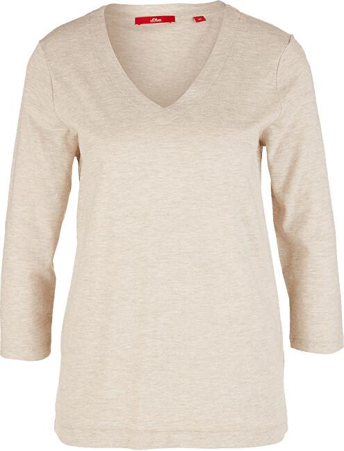 s.Oliver Dámske tričko 14.911.39.2694.81W1 Brown 34
