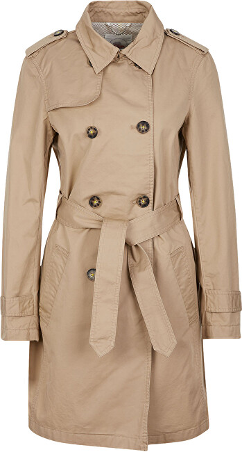 s.Oliver Dámský kabát 05.002.52.4004.8402 Brown 40