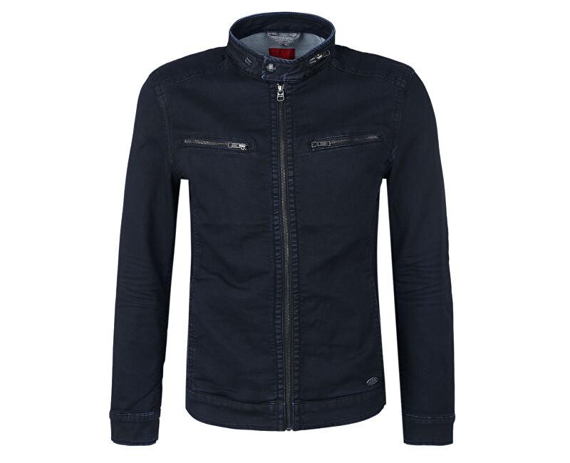 s.Oliver Pánska džínsová bunda 13.704.51.3706.57Z4 Blue Denim XL