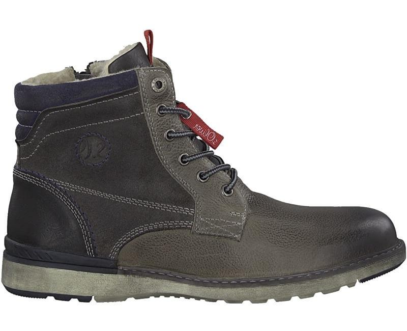 s.Oliver Mens cizme pentru glezna Grey 5-5-16236-31-200 41