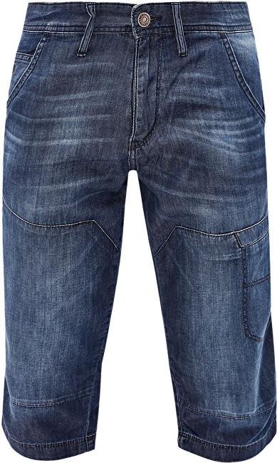 Oliver Pánské modré kalhoty ke kolenům 30 0dc952c934