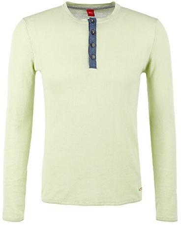 f138f00231ea Oliver Pánsky zelený sveter s dlhým rukávom XXL