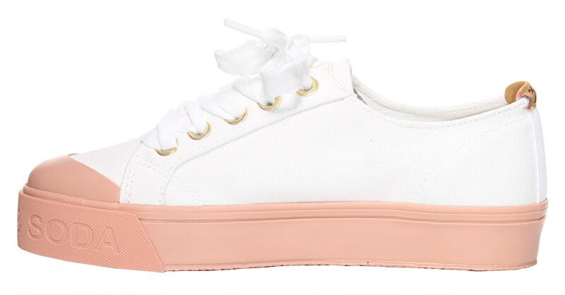Scotch & Soda Adidași pentru femei Sylvie 18739507 off-wht-Baby Pink 40