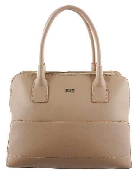 Storm Elegantní business kabelka Mayfair Zip Top Handbag Biscuit STHBG23
