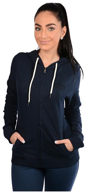 Tommy Hilfiger Dámska mikina Perfect Fleece Zip Thru Hoody UW0UW00391-416 Navy Blazer M