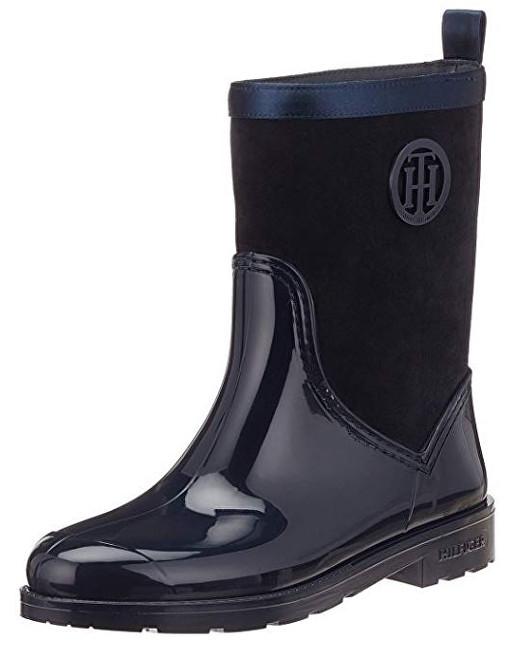 Tommy Hilfiger Femeile Warmlined Suede Rain Midnight FW0FW03976-403 41