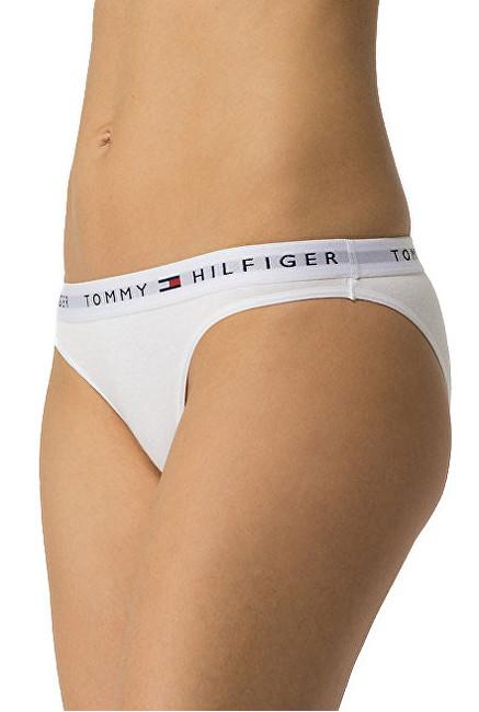 Tommy Hilfiger Chiloți pentru femei Cotton Iconic Bikini 1387904875-100 White L