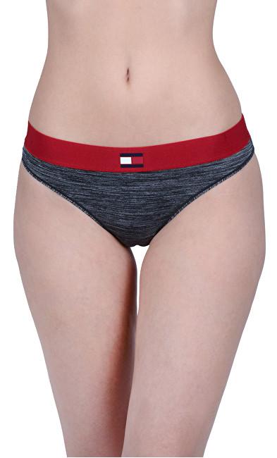 Tommy Hilfiger Pantaloni Tech Flag Bikini Dark Grey Heather UW0UW01042-091 S