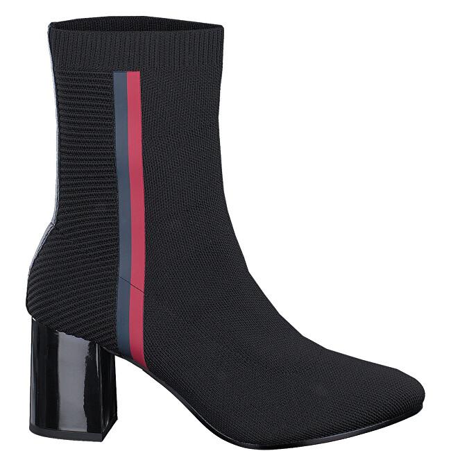 Tommy Hilfiger Dámske členkové topánky Black FW0FW04157990 40