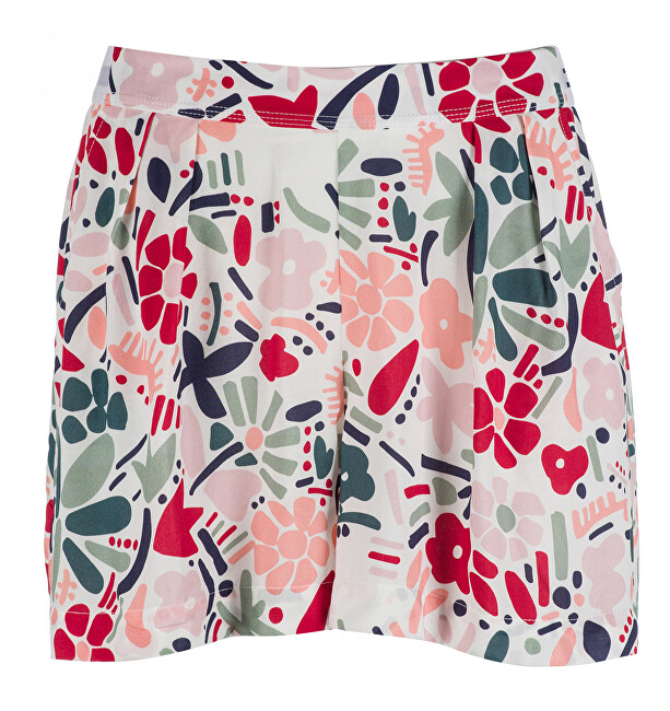 8522244d6f3 Tommy Hilfiger Dámské kraťasy Woven Short Abstract Flower Print  UW0UW00682-614 L