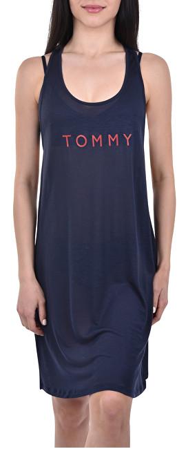cd25ad8a4f Tommy Hilfiger Dámské šaty Tommy Short Tank Dress Tee Navy Blazer  UW0UW01730-416 L