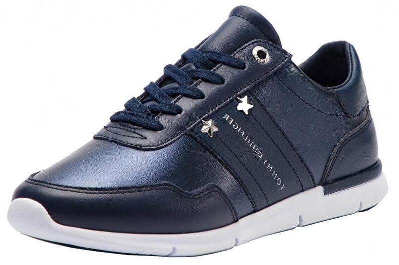 Tommy Hilfiger Pantofi Tommy Essen pentru femei de Dark verde Dark Blue Dark FW0FW03688-406 41