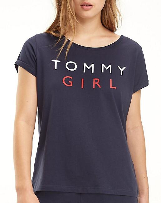 Tommy Hilfiger Tricou de femei Cn Tee Ss UW0UW01619-416 Navy Blaze r L
