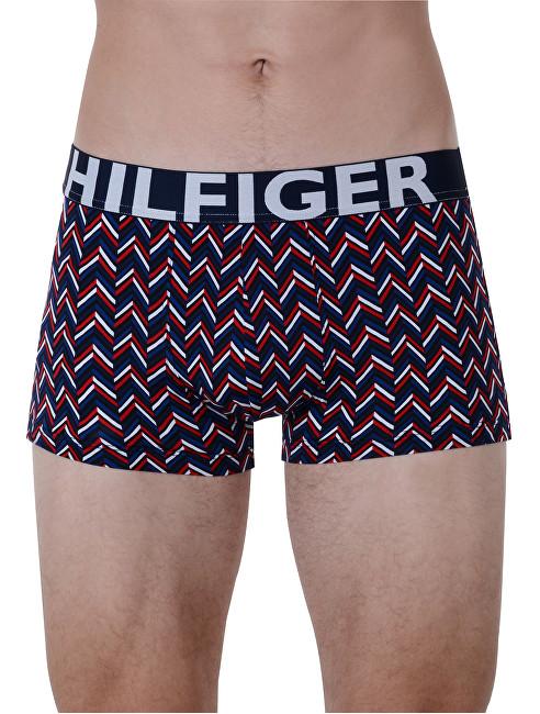 Tommy Hilfiger Boxer pentru bărbați Hilfiger Lr Trunk Chevron Tango Red UM0UM00902-611 XL