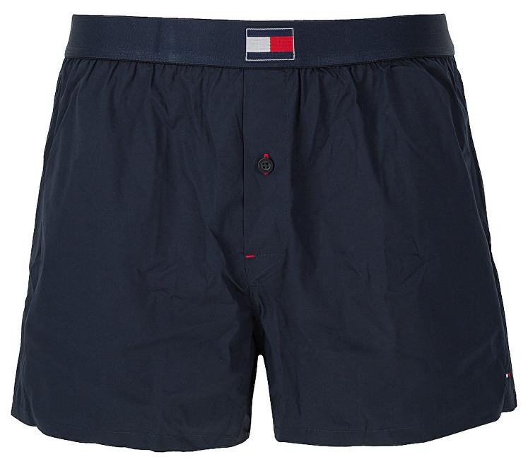 Tommy Hilfiger Pantaloni pentru bărbați Flag Core Woven Boxer UM0UM00897-416 Navy Blazer XL