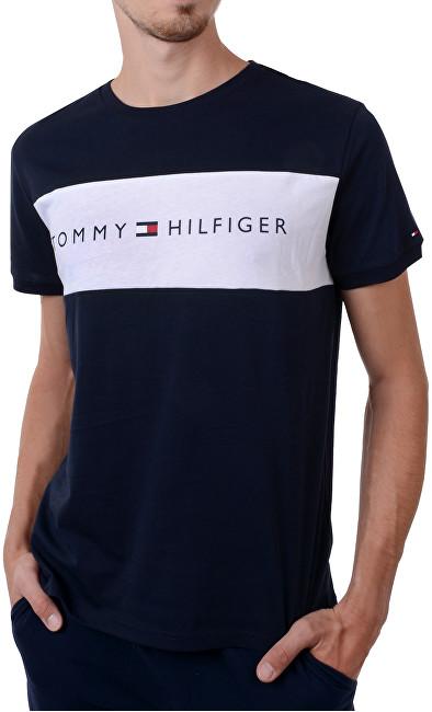 77e76bf675 Tommy Hilfiger Pánske tričko Cotton Icon Rn Tee Ss Logo Navy Blaze r  UM0UM00963 -416
