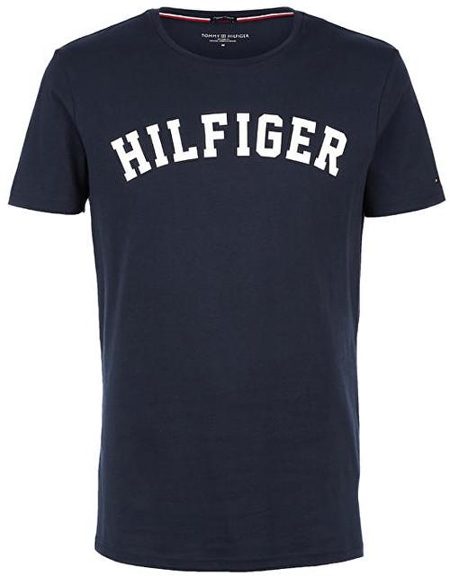 Tommy Hilfiger Pánské triko Cotton Icon SS Tee Logo Navy Blazer  UM0UM00054-416 L e8e88e48d92