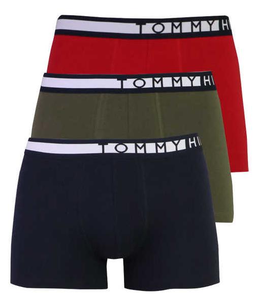 Tommy Hilfiger 3 PACK - pánske boxerky UM0UM01234-0TZ XXL