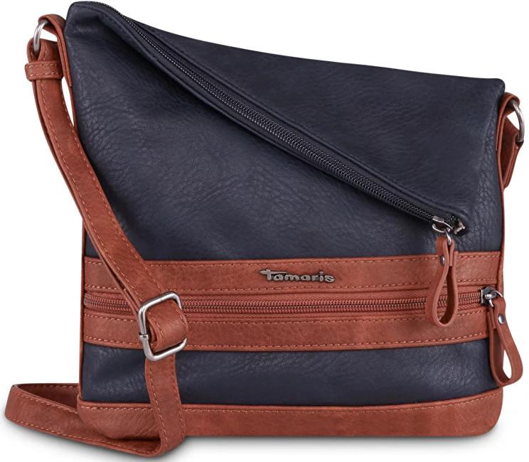 0281a47703 Tamaris Dámska crossbody kabelka Smirne Crossbody Bag 2932182-890 Navy Comb.