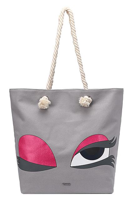 Tamaris Kabelka Carina Shopping Bag 3044191-204 Light Grey 5ce3d63769e