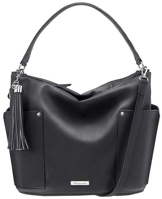 Tamaris Dámska kabelka Edna Hobo Bag 2904182-098 Black Comb