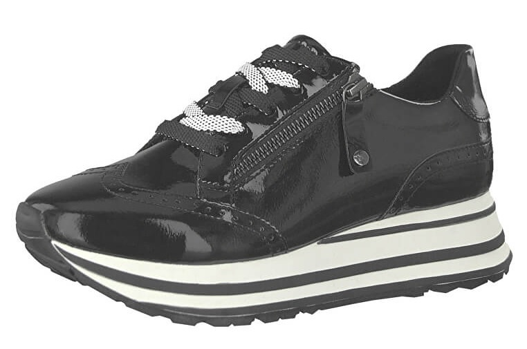 791120308b12 Tamaris Dámské boty 1-1-23701-32-001 Black 38