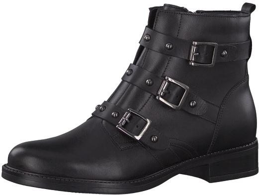 Tamaris Dámské kotníkové boty 1-1-25011-21-001 Black 40 987c70dba0