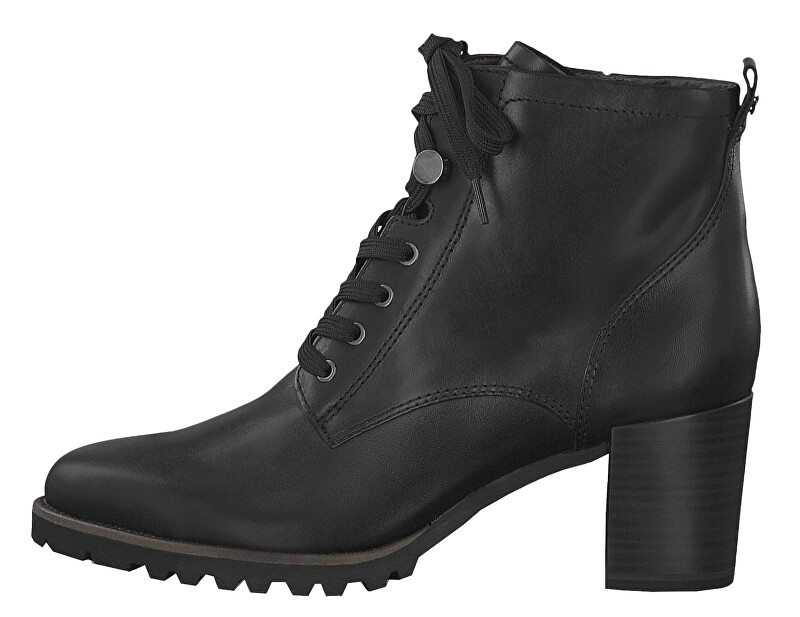 Tamaris Dámske členkové topánky 1-1-25 103-2 3-001 Black 41